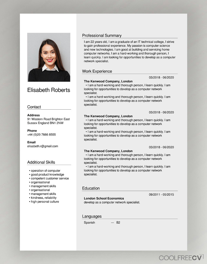 Cv Creator Maker Builder Online Resume Free To Pdf